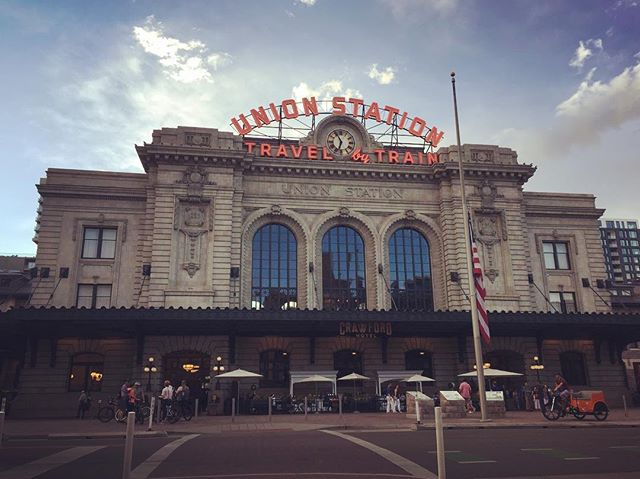 Some days it's fun to be a tourist. #unionstationdenver
