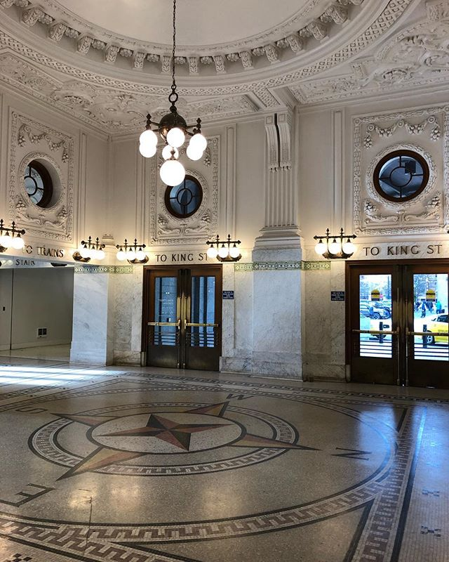 King Street Station – entryway.