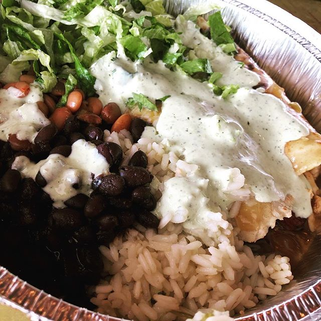 On Tuesdays we eat Mexican. Yum!  #tacotuesday @caferio #enchiladas #nottacos