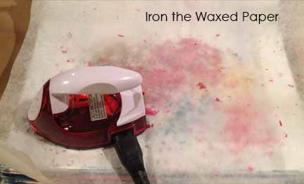 iron-waxed-paper