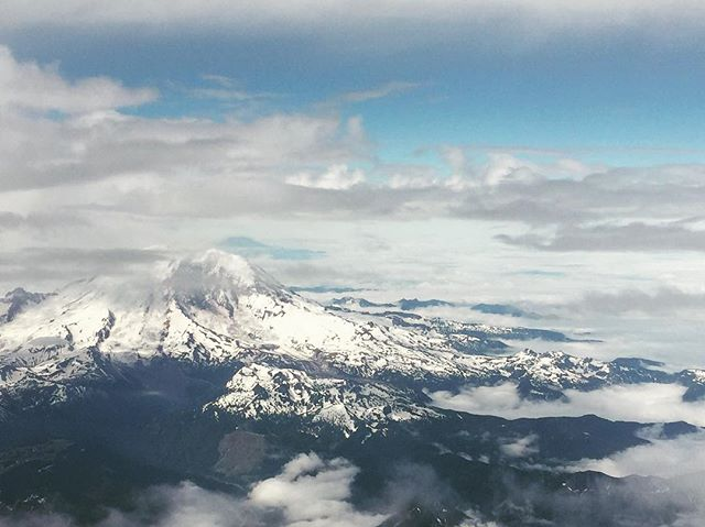 That is a view I've missed… #mtrainier #washingtonstate #pnw