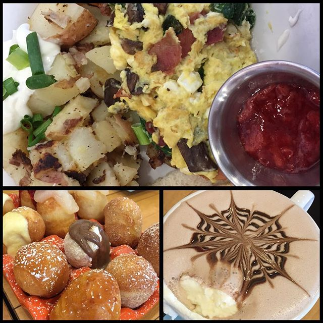 College towns always have the best breakfast places… #jellyDU #denver